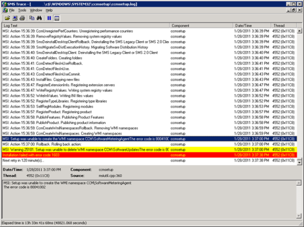 SCCM Knowledge and Sharing: Fix SCCM Client Issues