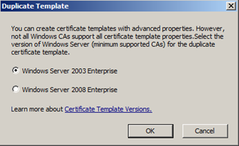 Creating opsmgr 2012 gateway server certificates sccm guys blog in the template display name field type in operations manager 2012 gateway certificate the template name will duplicate what is typed in above yadclub Choice Image