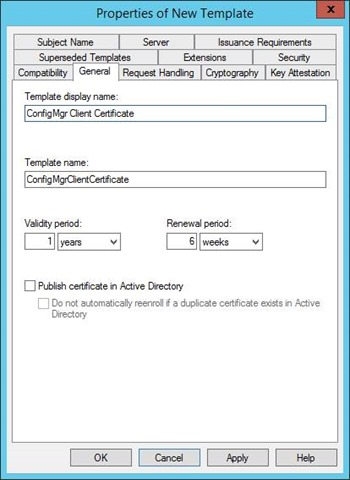 Pki certificates for configuration manager 2012 r2 part 24 and select the additional permissions of read and autoenroll do not clear enroll click ok and close certificate templates console yadclub Gallery