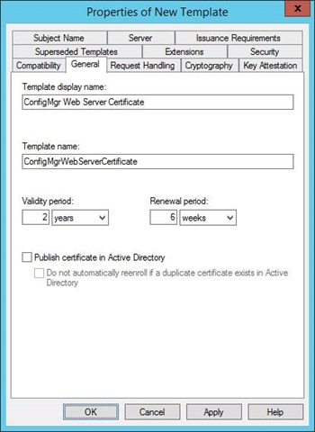 Pki certificates for configuration manager 2012 r2 part for Vpn access request form template