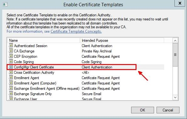 Pki certificates for configuration manager 2012 r2 part 24 configuring auto enrollment of the workstation authentication security template yadclub Gallery