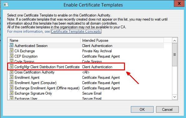 Pki certificates for configuration manager 2012 r2 part 34 if you do not have to create and issue any more certificates close certification authority yelopaper Choice Image