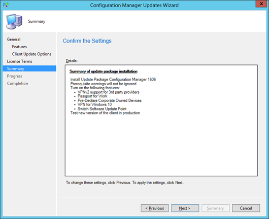 Updating to Configuration Manager Build 1606 | SCCM Guy's Blog